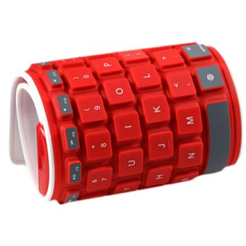 Waterproof Flexible Foldable Keyboard