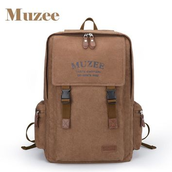 New Arrivals High Capacity Backpack Retro Style Male&Female Canvas Backpack for Teenagers Travel Bag with