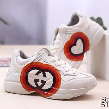 GUCCI Fashion Retro Women Men Casual Sport Running Shoes Sneakers 3#