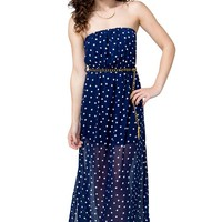 Lovely Dot Maxi Dress