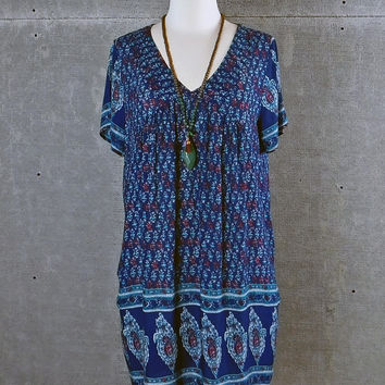 Berkeley Blue Shift Dress
