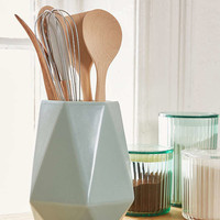 Faceted Utensil Holder | Urban Outfitters