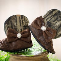 Cowgirl Boots, Baby Camo Cowgirl Boots