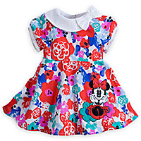 Minnie Mouse Floral Dress for Baby