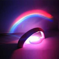 Romantic Room Decor Atmosphere Rainbow Projection Lamp