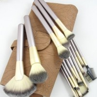 Elite 18 Piece Makeup Brush Set Professional Quality by L.A. Minerals® a Registered Trademark
