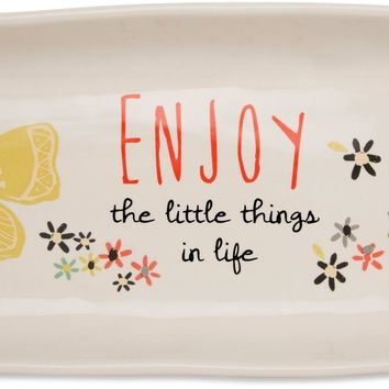 Enjoy the little things in life Serving Tray