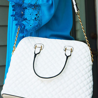 Back To You Purse: White