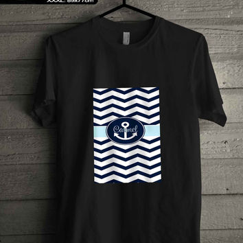 anchor chevron.. T-SHIRT FOR MAN SHIRT,WOMEN SHIRT **