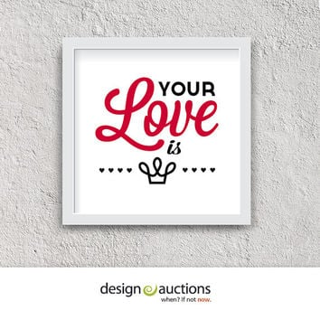 Your Love is King 1984 by Sade   valentine printable love printable love song love prints printable art home decor valentine decor wall art