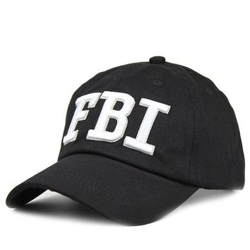 Sports Hat Cap trendy  Geebro Fashion Cool FBI Police Snapback Caps Baseball Cap for Men & Women Brand Unisex Army Sports Cap Casquette Caps JS235 KO_16_1
