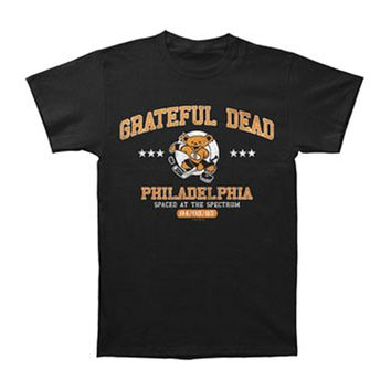 Grateful Dead Men's  Spectrum 85 T-shirt Black Rockabilia