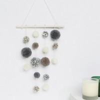 Sass & Belle Pompom Wall Hanging at asos.com