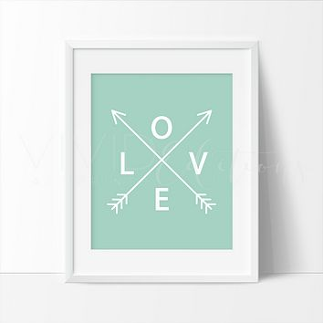 Mint Love Arrows