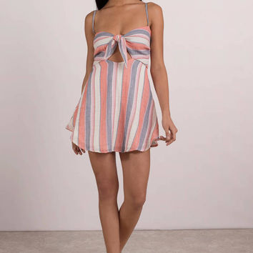 Beach Riot Taylor Front Tie Dress