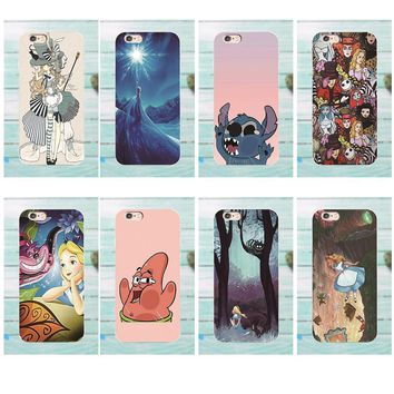Soft Capa Cover For Galaxy Alpha Core Prime Note 4 5 8 S3 S4 S5 S6 S7 S8 S9 mini edge Plus Ariel Tattooed Alice In Wonderland