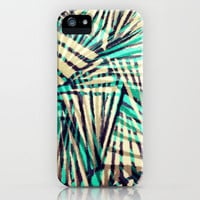Tiger Stripes iPhone & iPod Case by Claudia Owen