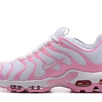 Tagre™ Nike Air Max Plus Tn Ultra Sport Shoes Casual Sneakers - Pink White