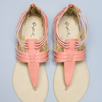 Sweet Savannah Sandal - Salmon