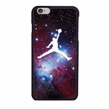 michael air jordan art jumping star cone nebula iphone 6 6s 4 4s 5 5s 5c cases