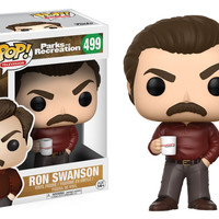 POP! TELEVISION 499: PARKS & RECREATION - RON SWANSON