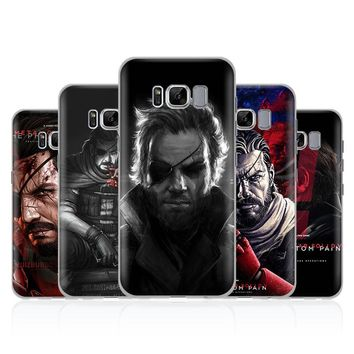 Metal Gear Solid MGS V Phone Case Shell For Samsung Galaxy S4 S5 S6 S7 Edge S8 S9 Plus Note 8 2 3 4 5 A5 A7 J5 2016 J7 2017