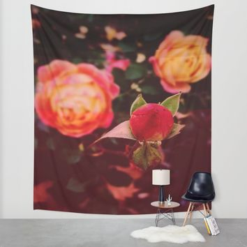 Living Color Wall Tapestry by Ducky B