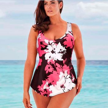 Beach Sexy Swimsuit New Arrival Hot Summer Stylish Print Slim Plus Size Swimwear Bikini [7767320903]