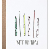 Hartland Birthday Candles Card