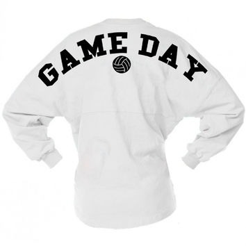 Volleyball Game Day Jersey