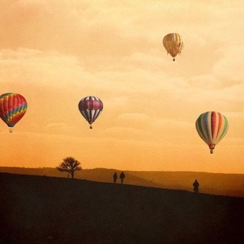 Hot Air Balloon Photography The Journey Home A Fine by KeriBevan