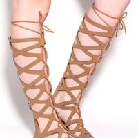 Lattice Warrior Gladiator Sandals