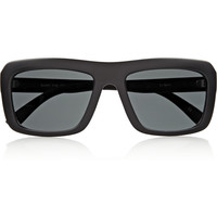 Le Specs Bury The Dead square-frame sunglasses – 50% at THE OUTNET.COM