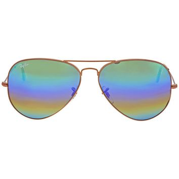 sunglasses Ray Ban Limited rainbow RB3025 AVIATOR LARGE METAL 9018C3
