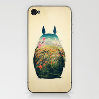 Tonari no Totoro iPhone & iPod Skin by Victor Vercesi | Society6