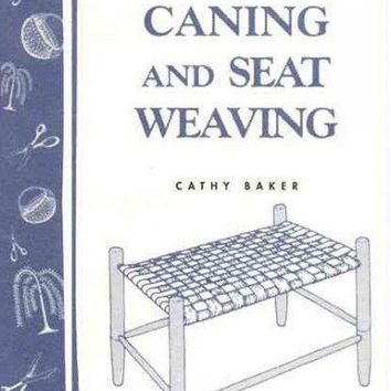 Chair Caning: Cane, Rush and Related Techniques of Seat Weaving