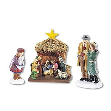 Department 56 Christmas In The City? Series Visiting The Nativity