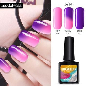 Temperature Thermal Gel Polish UV Led Nail Gel Mood UV Gel Nail Polish Semi Permanent Color Changing Gel