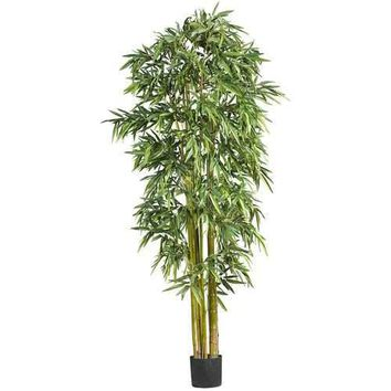 7' Biggy Style Bamboo Silk Tree