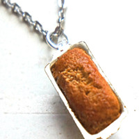 Loaf Bread Necklace