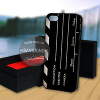 Directors Movie Clapboard case for Note 2,3-iPod 4th 5th-iPhone 5,5s,5c,4,4s,6,6+[ 2Gtk ]-LG Nexus-HTC One-Samsung Galaxy S3,S4,S5