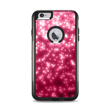 The Glowing Unfocused Pink Circles Apple iPhone 6 Plus Otterbox Commuter Case Skin Set