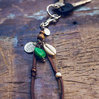 Palmetto Moon Keychain