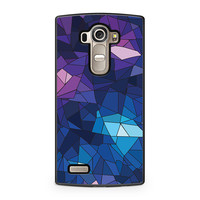 With Blue Glass Design LG G4 case