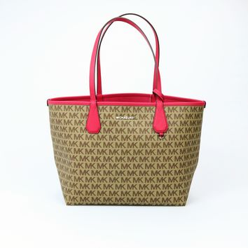 Michael Kors Large Canvas Candy Reversible Tote