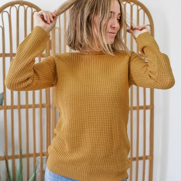 Apple Picking Sweater - Mustard