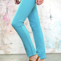 High Quality Colored Jeggings