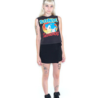 Early 90s SONIC The Hedgehog Cut-Off Tee, Size Small, 90s Cyber Goth