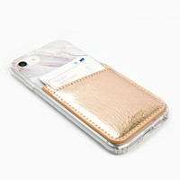 Rose Gold Phone Pocket