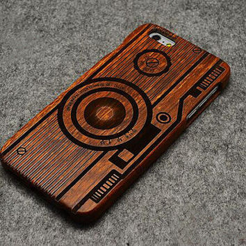 Wood Camera iPhone 6s case Unique iPhone 6 Plus case by Randyshome